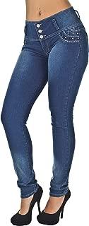 Colombian Design High Waist Butt Lift Levanta Cola Skinny Jeans Plus & Junior