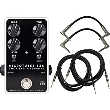 Darkglass Microtubes B3K 2.0 Bass Distortion Pedal w/ 4 Cables!