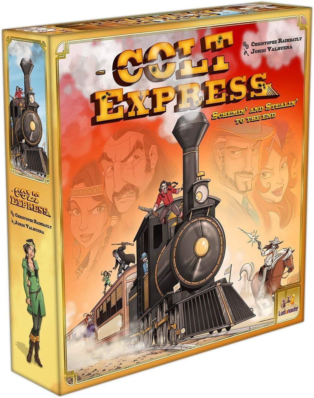 Ludonaute - Juego de tablero Colt Express: Amazon.es: Juguetes y juegos