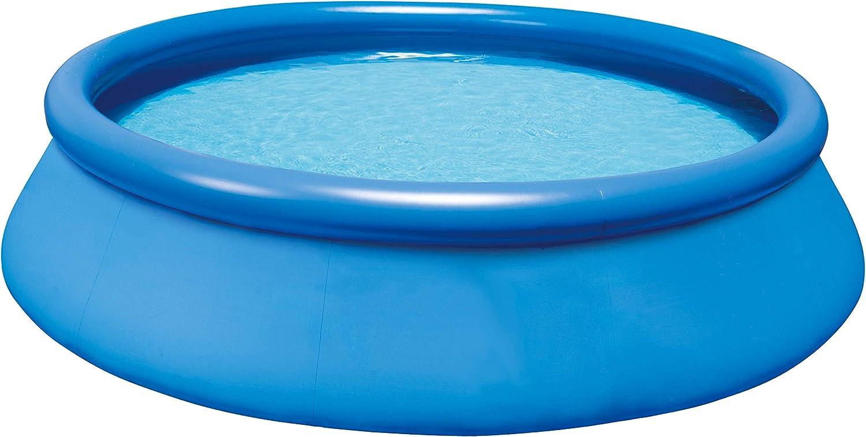 HAFIX Fast Set Pool Quick-Up 305 x 76cm Swimmingpool aufblasbar f/ür Garten Terasse Schwimmbad Aufstellpool rund.