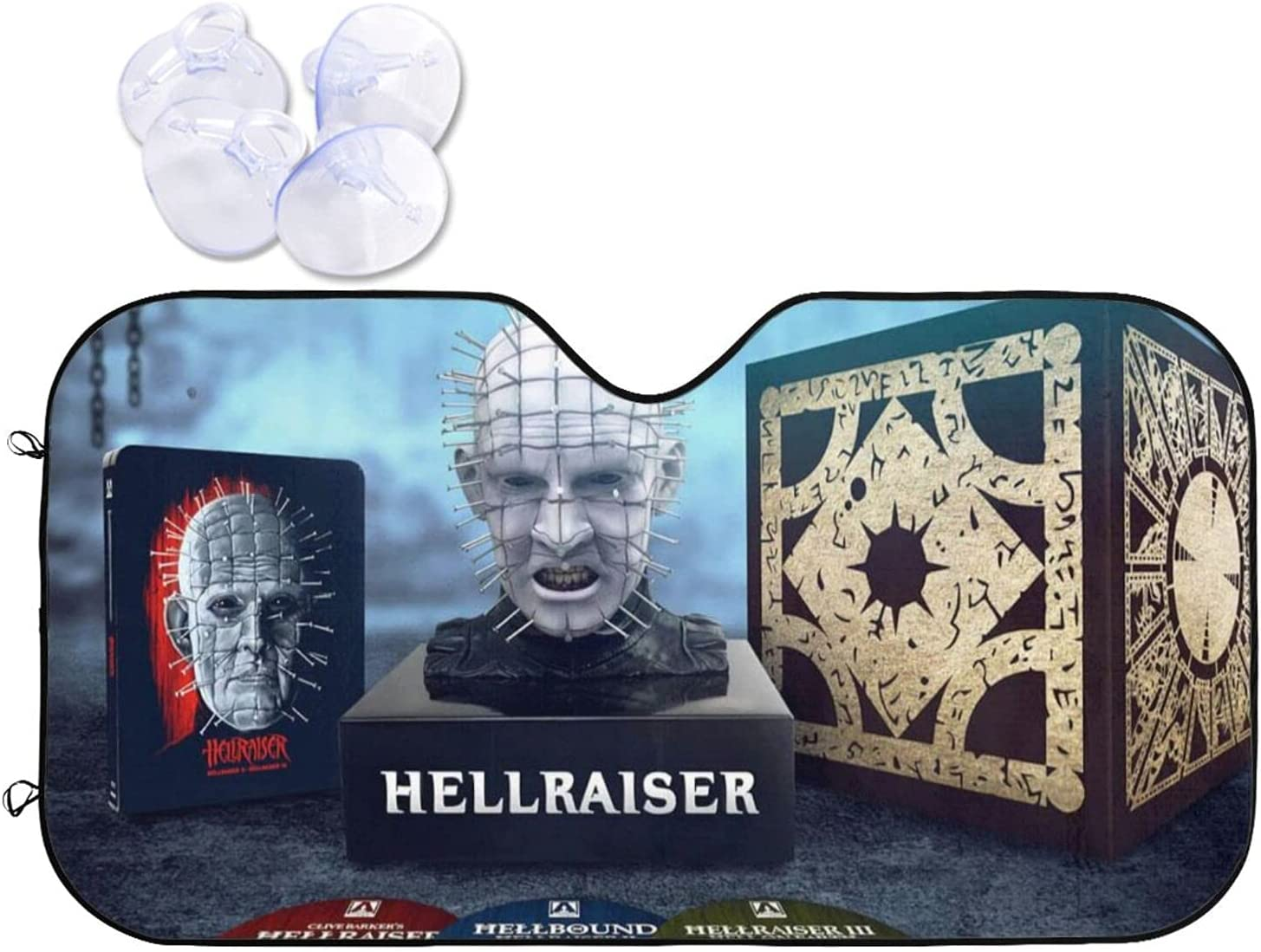 Hellraiser Car Sunshade Heat Sales of SALE items from new works and Visor Sun Windshield Selling rankings Prevention