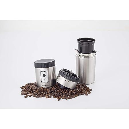 ジアレッティ 電動ミル付き ポータブル コーヒーメーカー