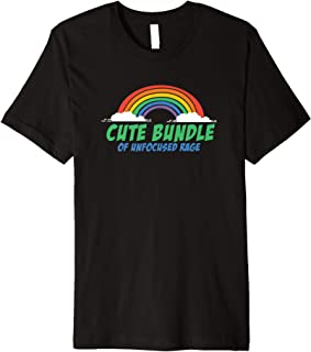 Cute Bundle Of Unfocused Rage | Pastel-Goth - Metal - Kawaii Premium T-Shirt