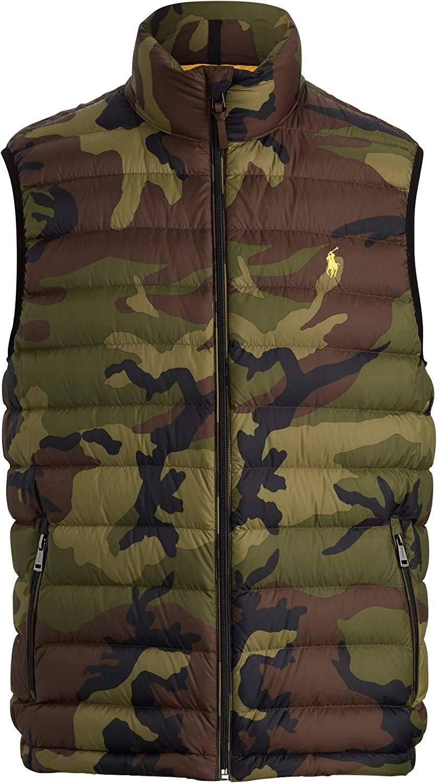 Polo Ralph Lauren Men's Camo Packable Down Vest