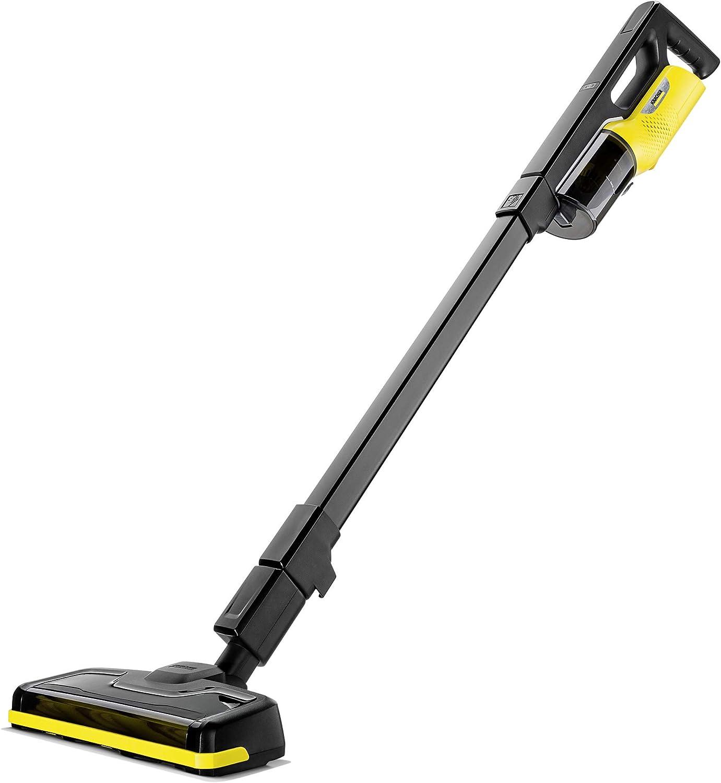 Karcher VC4i Stick Cordless Vacuum, Compact, Black & Yellow