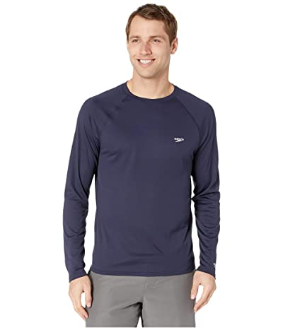 Speedo Easy Long Sleeve Swim Shirt (Peacoat) Men