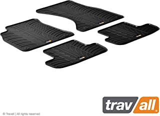 Travall Mats Compatible with Audi A4 Avant or Sedan (2008-2015) S4 Avant (2009-2016), S4 Sedan (2008-2016) and More TRM1116 - All-Weather Rubber Floor Liners