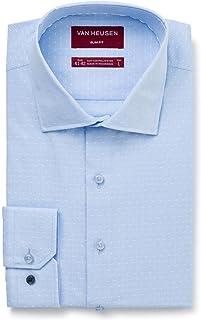 Van Heusen Men's Slim Fit Flag Stripe Business Shirt