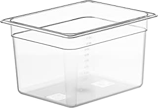 LIPAVI Sous Vide Container - Model C10-12 Quarts - 12.7 x 10.3 Inch - Strong & Clear See-thought Polycarbonate - Matching ...