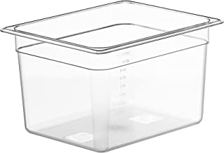 LIPAVI Sous Vide Container - Model C10 - 12 Quarts - 12.7 x 10.3 Inch - Strong & Clear See-thought Polycarbonate - Matching L10 Rack and Tailored Lids for virtually every circulator sold separately