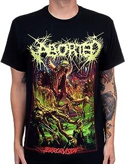 Indie Merch Aborted Men's Terrorvision T-Shirt Black