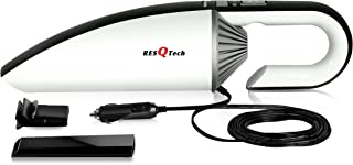 ResQTech 12V DC Car Vacuum Cleaner (Dry and Wet,5 m Cord,2 Years Warranty Improved Version 2019
