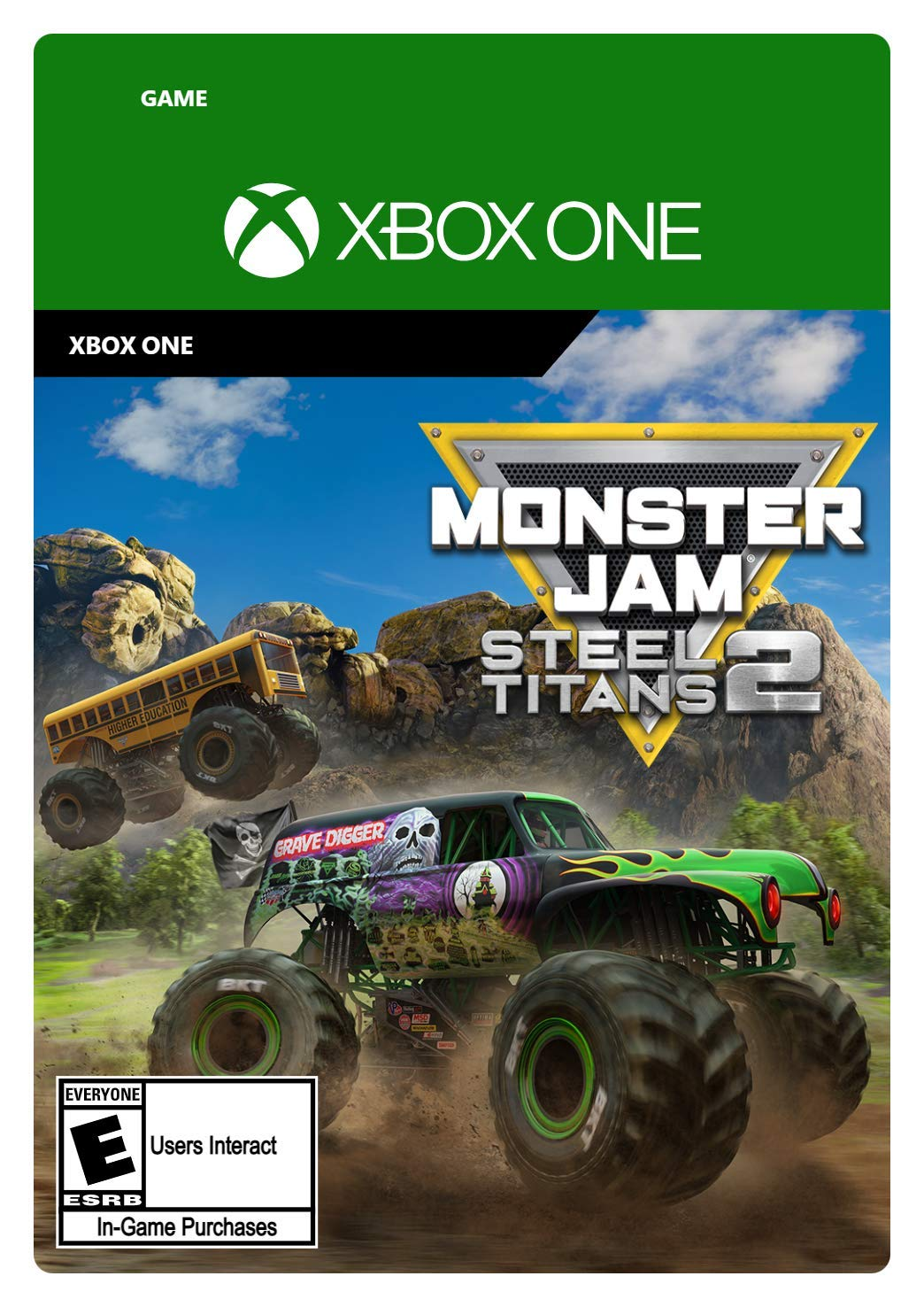 Monster Jam Steel Titans Product Max 40% OFF 2 Standard Digital - Code One Xbox