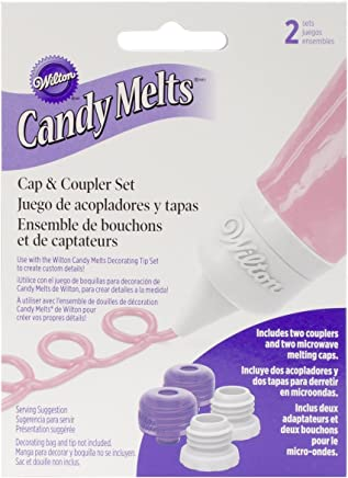 Amazon.com: Wilton 1904-1022 Candy Melts Cap & Coupler Set ...