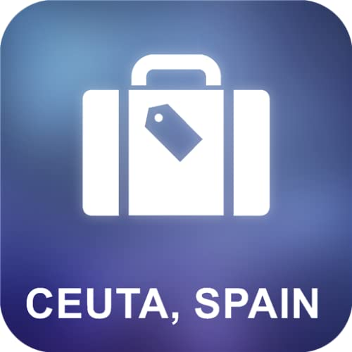Ceuta, España Offline Mapa