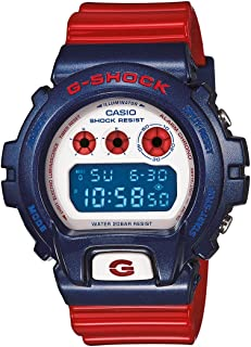Casio G-Shock Digital Sports Watch (Blue/Red)