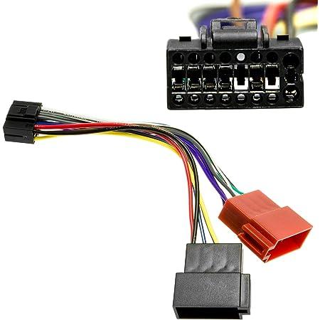 Auto Radio Adapter 16cm Kabel 16 Pol Stecker Auf 16 Pol Elektronik