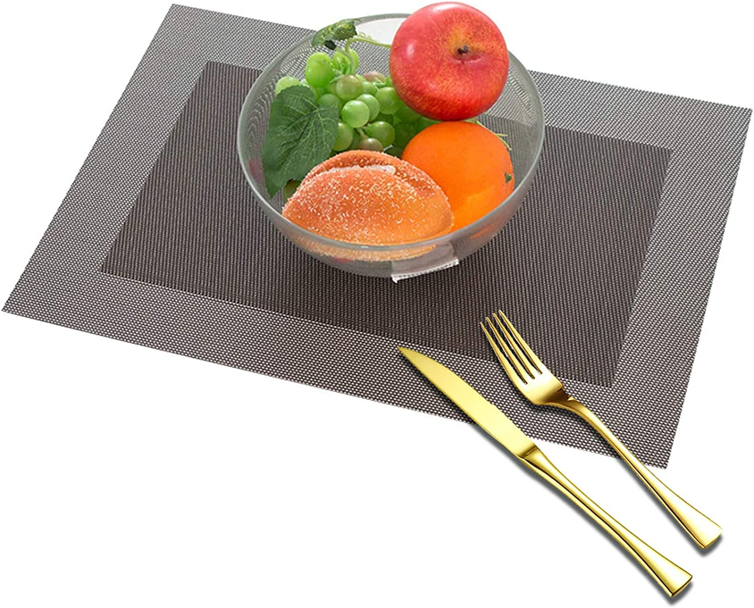 YLJXXY 4 PCS Now free shipping free shipping European Style PVC Stain Place Heat Mats Resistant