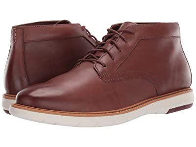 Clarks Draper Mid (Mahogany Leather) Men