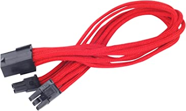 Silverstone Tek Sleeved Extension Power Supply Cable with 1 x 8-Pin to PCI-E 8-Pin Connector (PP07-PCIR)