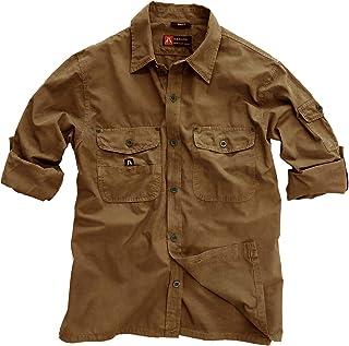 Kakadu Australia Men's Concord Long Sleeve Shirt, Breathable with Roll-Up Sleeve