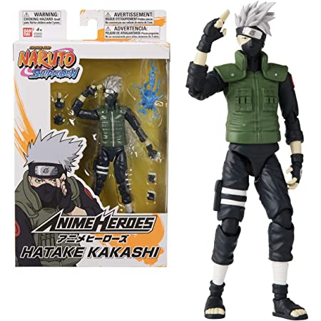 BANDAI Anime Heroes. Naruto Shippuden. Action figure Anime heroes 17 cm. Kakashi Hatake. 36903