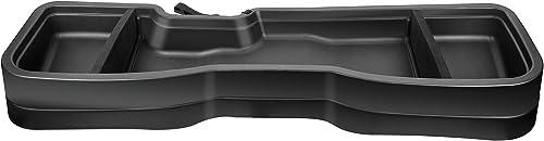 new arrival Gearbox Under Seat Storage Box Compatible for 2014-2018 Chevrole Silverado 1500/ GMC Sierra , 2015-2019 Chevrolet Silverado lowest 2500/3500/ GMC Sierra popular Crew Cab Black outlet sale