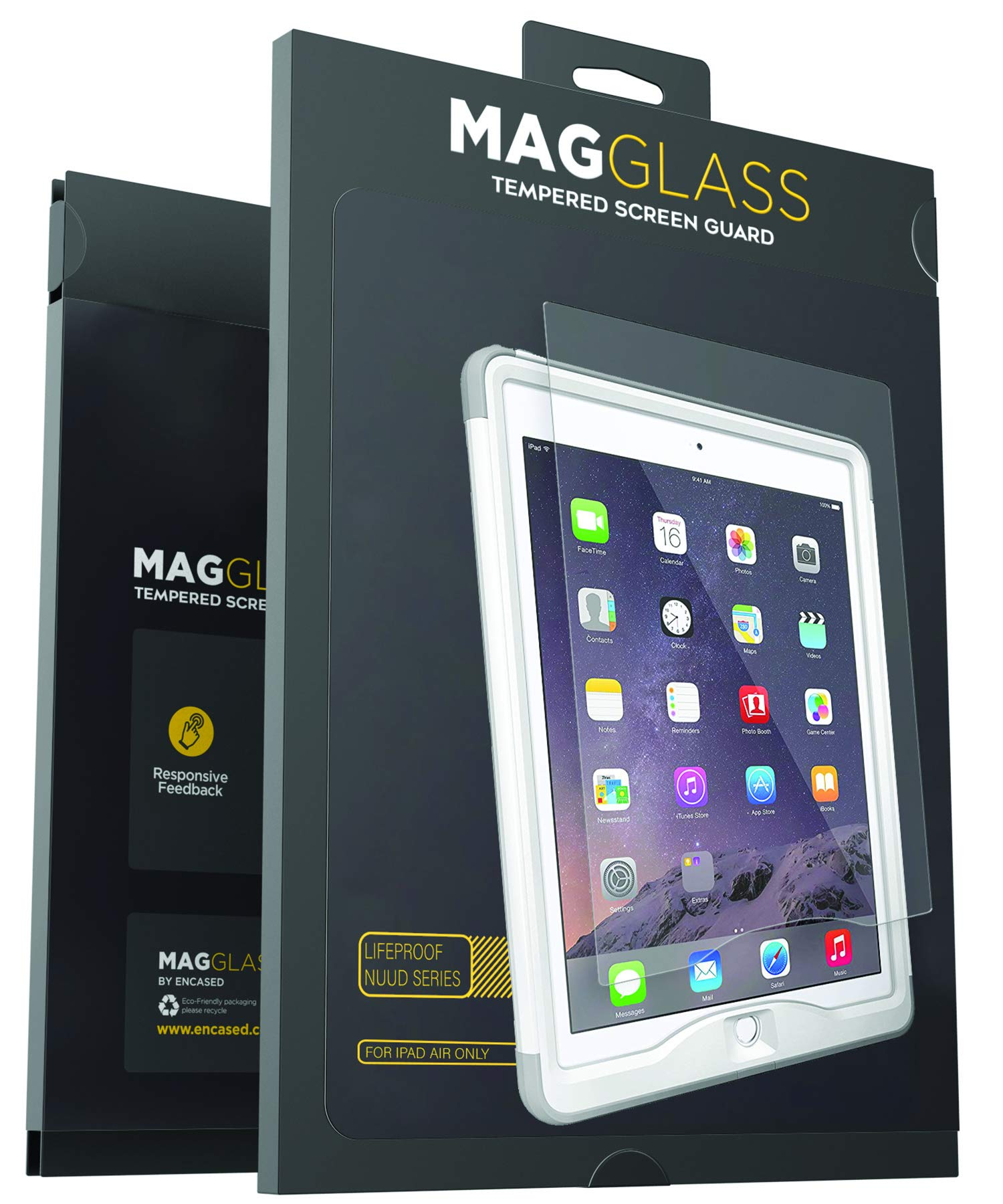 Magglass Protector Lifeproof Tempered Included