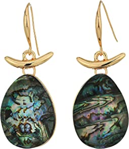 Robert Lee Morris - Abalone Drop Earrings
