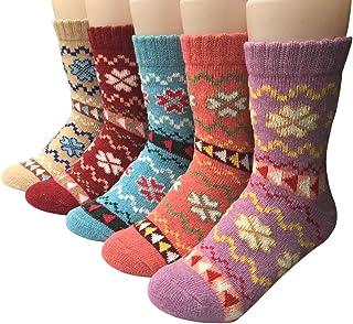 Mujer Calcetines invierno cálidos calcetines de algodón de lana Acogedor Transpirable EU Tamaño 35~40 Para Mujeres y Niñas Regalos De San Valentín De Uso Diario