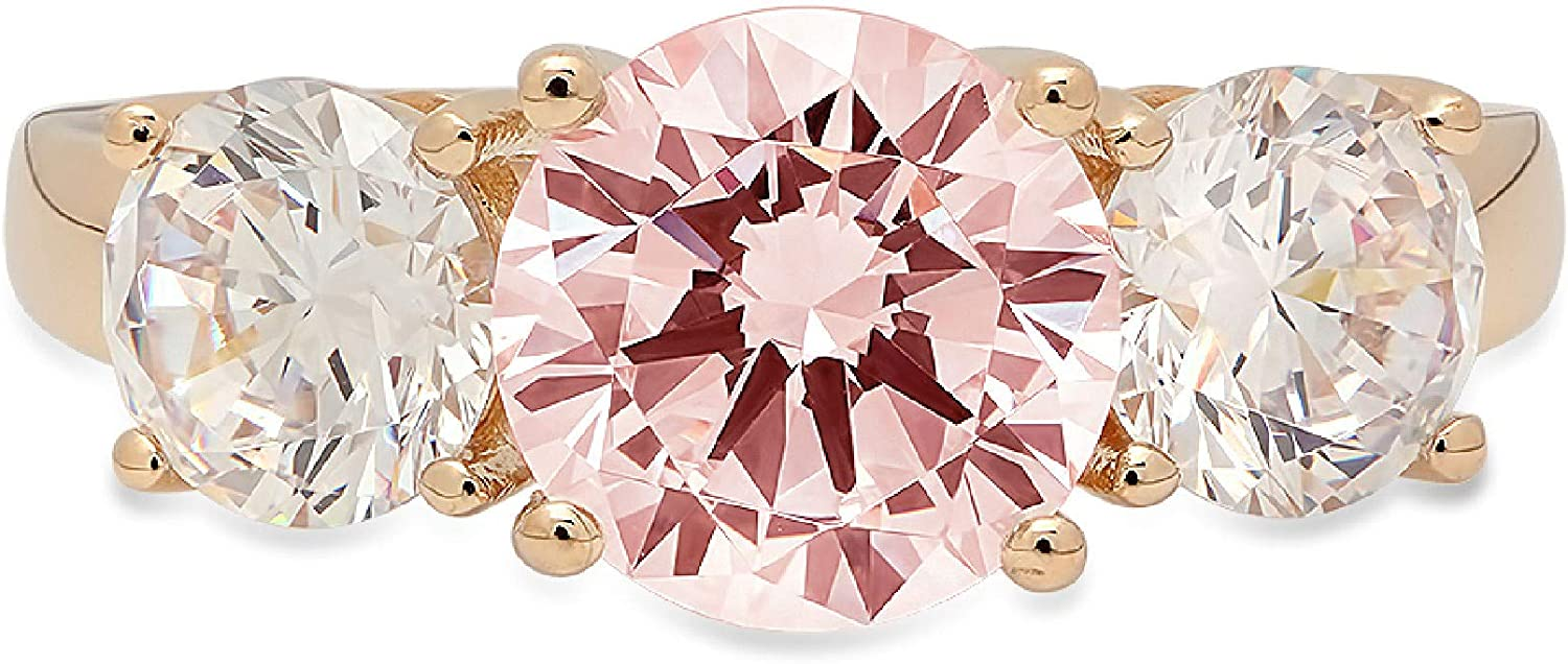3.25ct Brilliant Round Cut Solitaire stone Flawless 3 Inventory cleanup selling sale Pi Genuine New Shipping Free