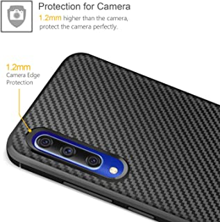 LsYun Funda Compatible para Xiaomi 9 Carcasa 2X Vidrio Templado Silicona Doble Caja Protectora A Prueba de Golpes+Soporte de Anillo Magn/ético,PC+TPU Anti-ca/ída Caso-Rojo