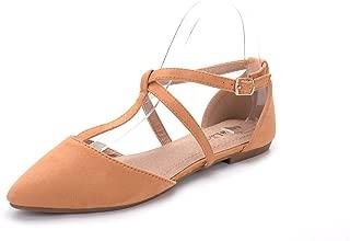 Mila Lady Mavis Fashion New Sparkling Embellish Glitter Slip Loafer Pointed Flat Shoes