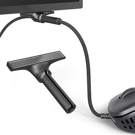 Pulsar Gaming Gears マイクロバンジー PMB01 マウスバンジー ケーブル ホルダー 有線マウスサポート 超コンパクトサイズ モニター下部に貼付 国内正規品 (単品)