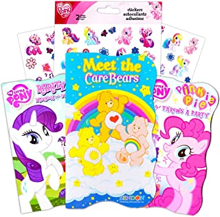 """Care Bears and My Little Pony """"My First Books"""" (Set of 3 Classic Shaped Board Books)"""