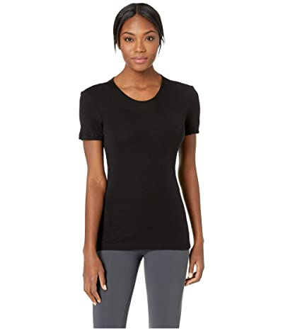 Icebreaker 175 Everyday Merino Baselayer Short Sleeve Crewe (Black) Women