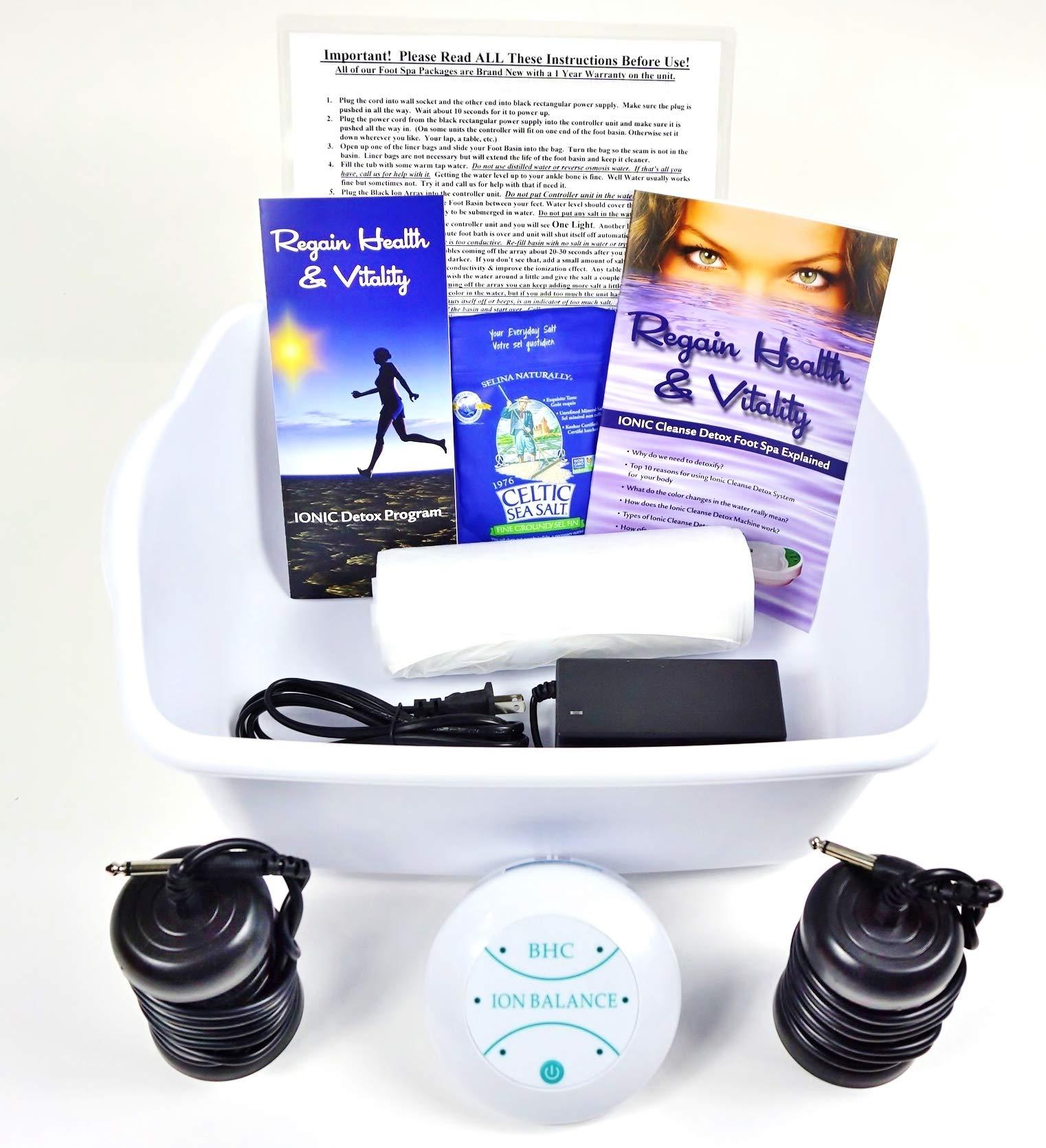 Cleanse Machine Vitality Booklet Brochure