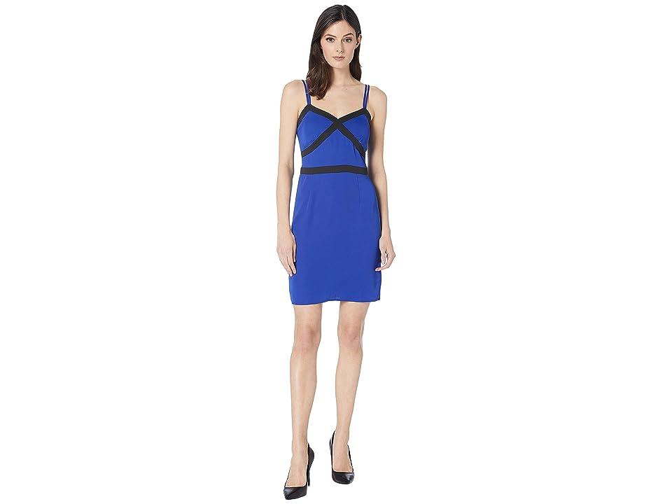 Bebe Tight Cami Dress (Surf the Web) Women