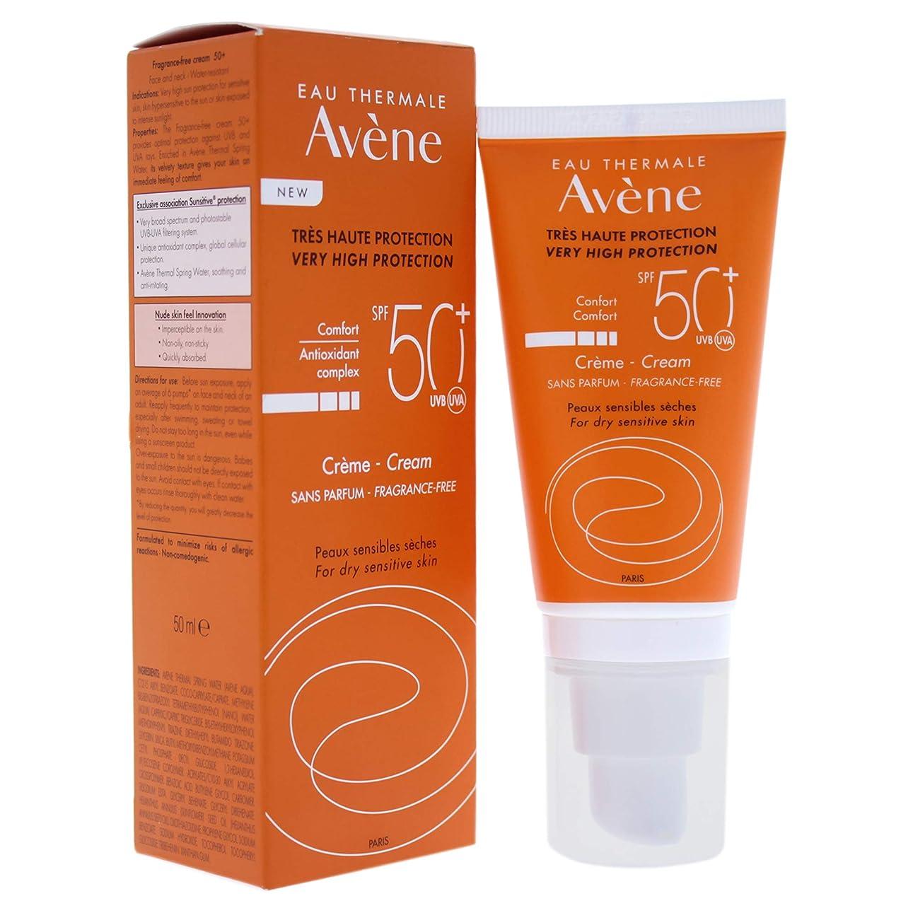 全部長老薄暗いアベンヌ Very High Protection Cream SPF 50+ (For Dry Sensitive Skin) 50ml/ 1.7oz並行輸入品