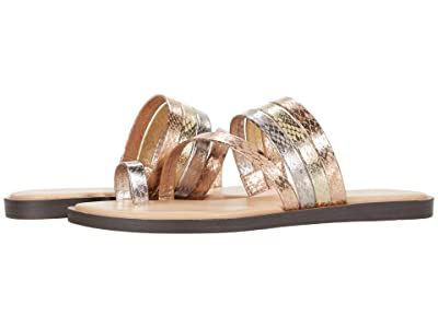 Kenneth Cole Reaction Spring Toe-Loop (Metallic Combo) Women