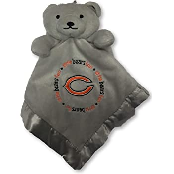 Denver Broncos Gray 14 X 14 Baby Fanatic NFL Legacy Infant Security Bear Blanket