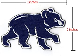 Chicago Cubs MLB Official Licensed Walking Bear Team Logo Jersey Patch