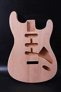 Nuevo cuerpo de guitarra caoba DIY guitarra eléctrica estil
