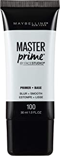 Maybelline New York Face Studio Master Prime Primer, Blur + Smooth, 1 Fl Oz (1 Count)