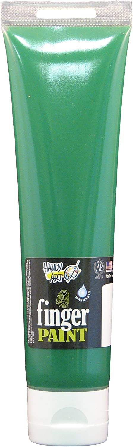 Handy Art Washable Finger Paint Dealing full price reduction ounce Green 5 Max 46% OFF