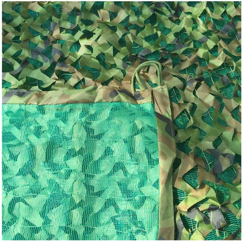 迷彩ネット カモフラージュネット 3層の厚さの迷彩ネット グリーンカモフラージュネットキャンプ隠し森林狩りプールカモフラージュテントサンシャイン写真パーティーゲームハロウィンのクリスマスの装飾に適して キャンプ (Size : 10*10m)