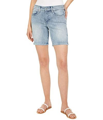 NYDJ Petite Petite Ella Denim Shorts in Clean Affection Women