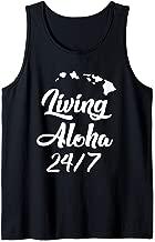 Living Aloha 24/7 Cool Hawaii Hawaiian Island Tank Top