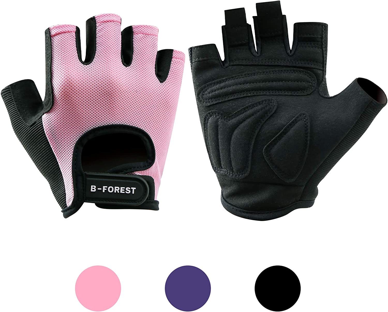 B-FOREST Workout Gloves Gym for Directly managed store OFFicial Weight Men Lifting Women