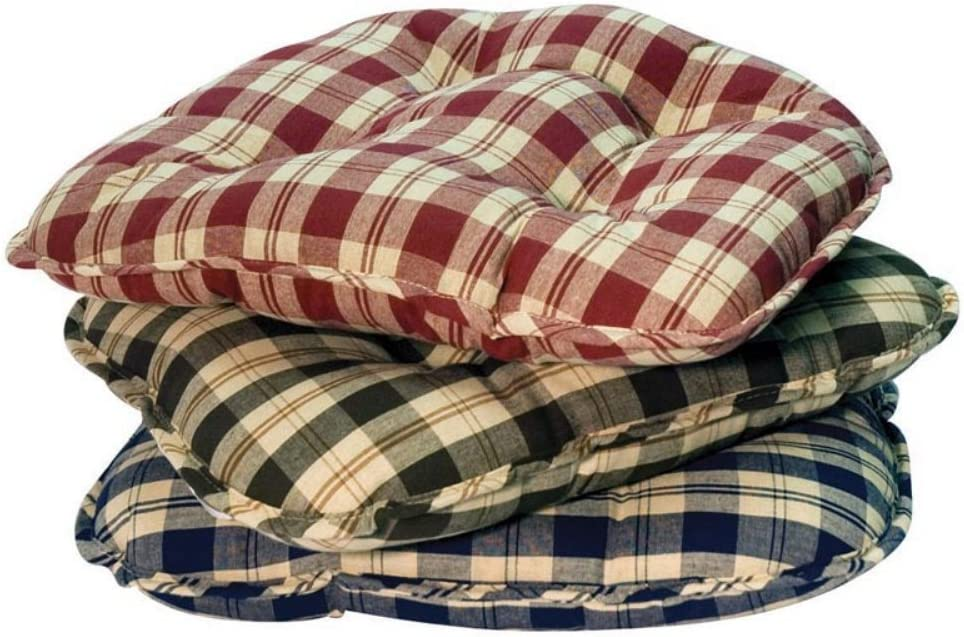 Greendale Topics on TV Home Fashions Applegate Plaid Chair Se Ruby Sale Special Price Cushions